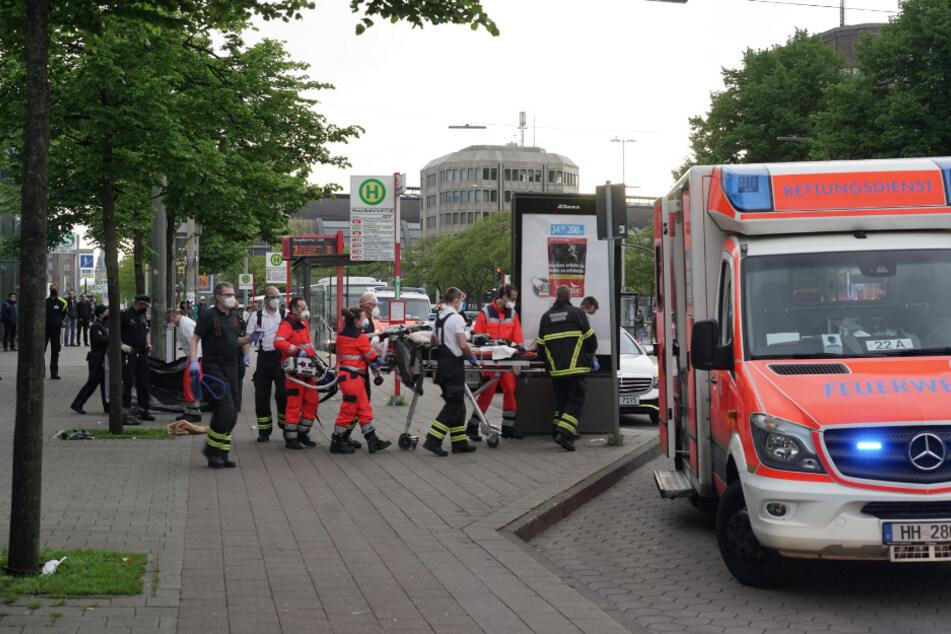 Hamburg: Schock in der Innenstadt: Passanten finden leblose Person