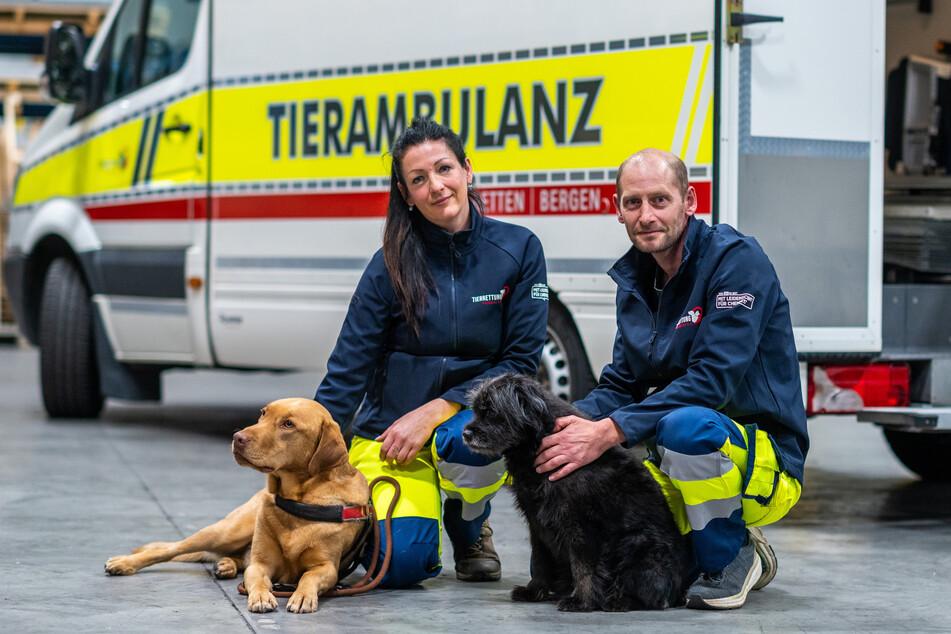 Chemnitz: Dieses Rettungsfahrzeug ist nur für verletzte Tiere