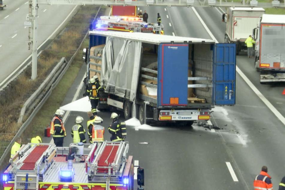 Der Lastwagen-Unfall am Nachmittag war nur der Anfang.