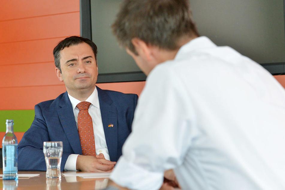 Im Interview stand der neue US-Generalkonsul Timothy Eydelnant (44) Rede und Antwort.