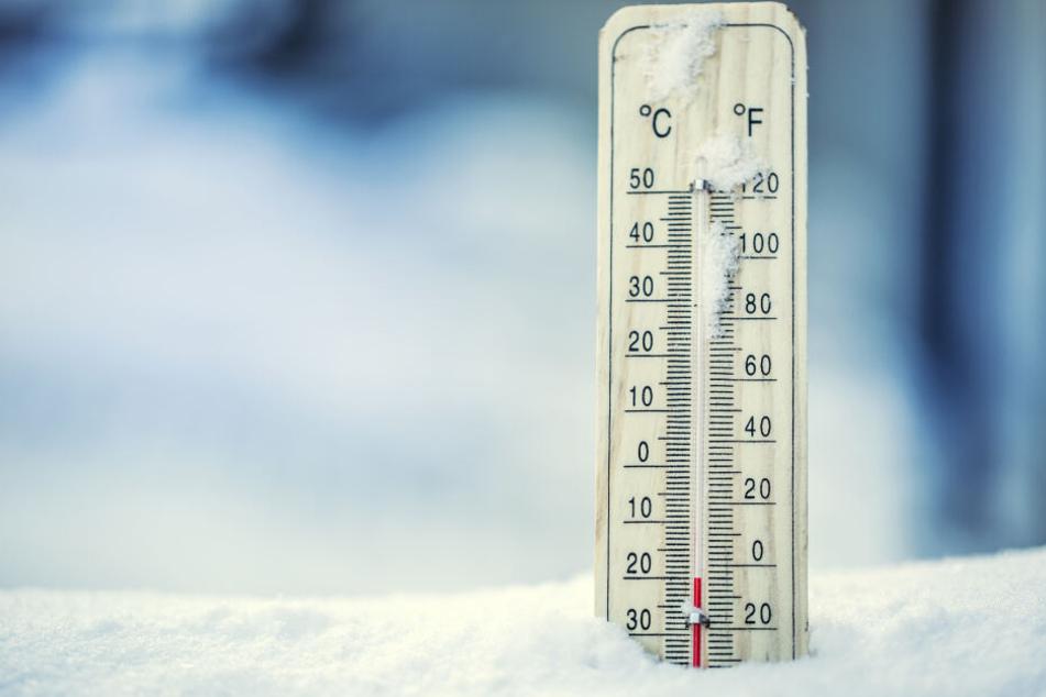 Schnee liegt noch nicht im Erzgebirge, aber die Temperaturen sind schon frostig kalt. (Symbolbild)