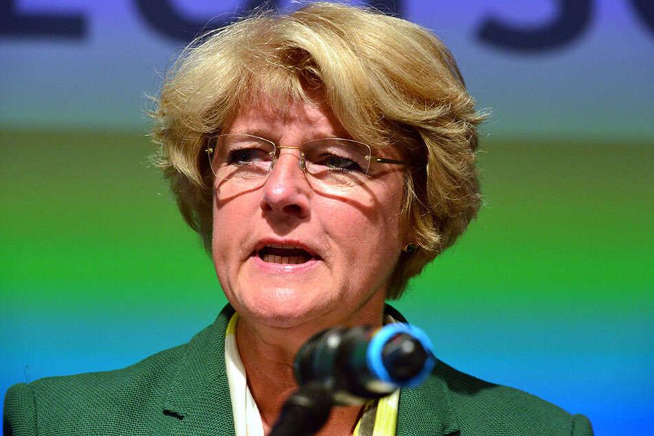 Mit 85,6 Prozent der Delegiertenstimmen wurde Monika Grütters am Sonnabend wieder zur Landesvorsitzenden gewählt.