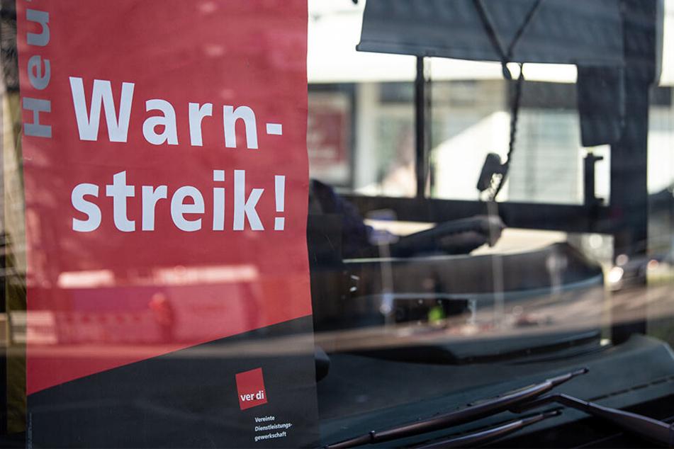 Am morgigen Mittwoch wollen Sachsens Bus- und Straßenbahnfahrer streiken.