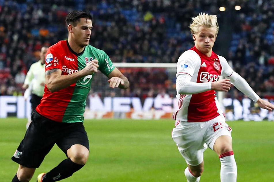 Ajax-Sturmjuwel vor Wechsel in die Bundesliga oder grätscht Nizza dazwischen?
