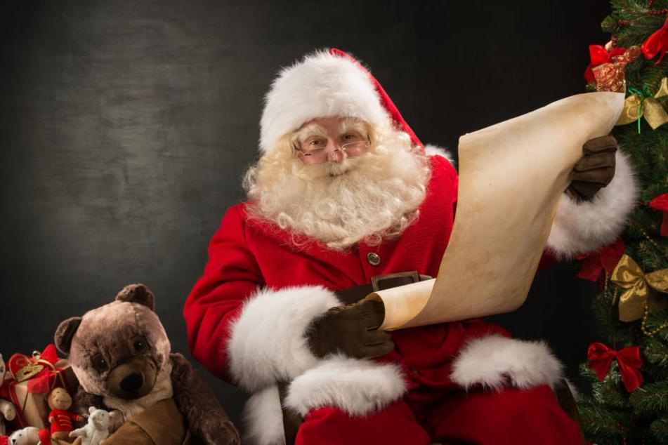 Weihnachtsmänner bemerken eine Veränderung der letzten Jahre.