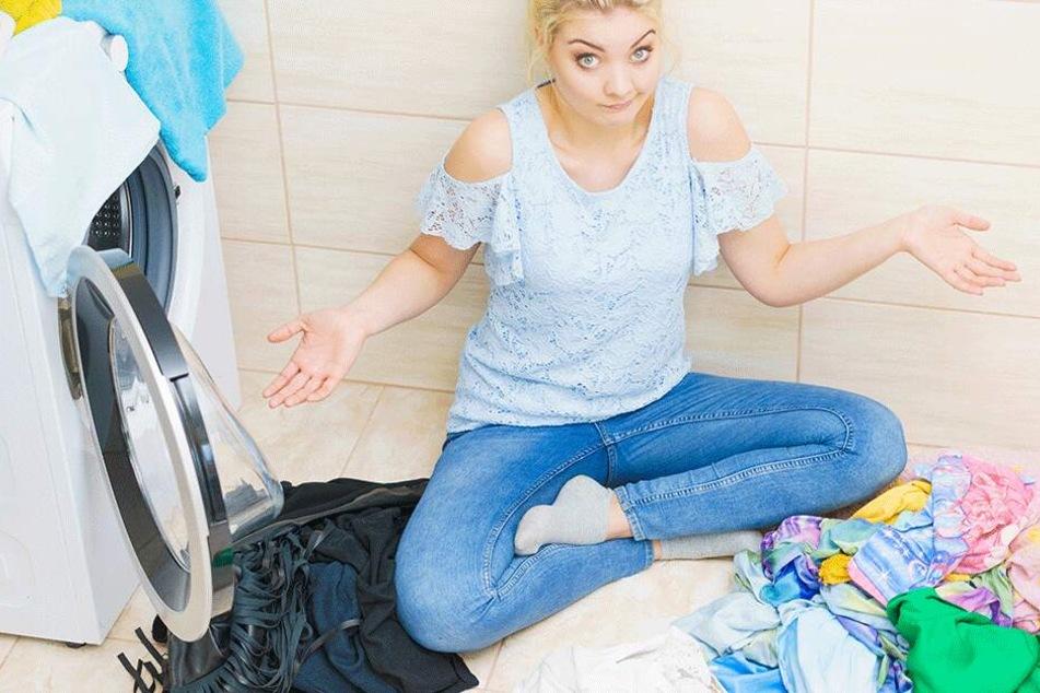 Mit einer einfachen Lösung aus zwei Wirkstoffen bekam eine australische Frau viel mehr Schmutz heraus als mit ihrer Waschmaschine. (Symbolbild)