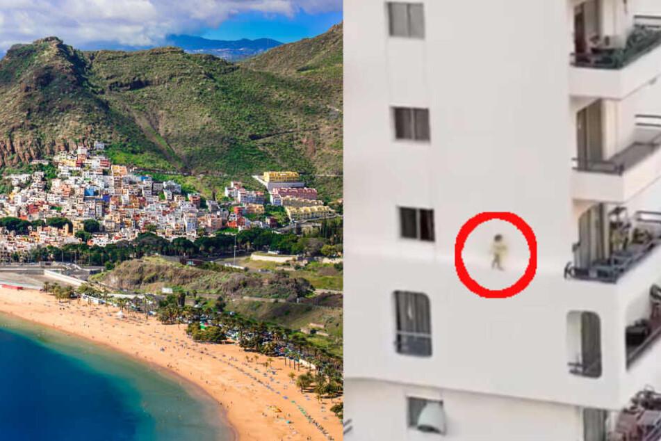 Das Fenster stand offen: Kleinkind klettert aus dem fünften Stockwerk eines Hochhauses!