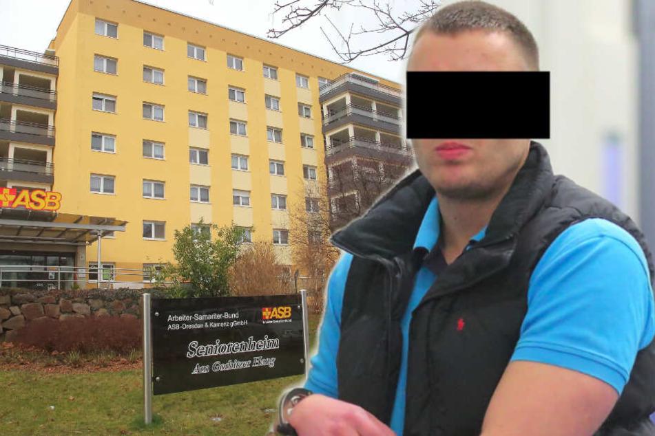 Patientin geplündert, Pfleger bedroht: Pistolen-Überfall im Pflegeheim