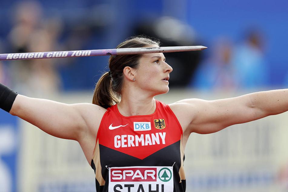 Bei der EM 2016 gewann Linda Stahl die Silbermedaille im Speerwerfen.