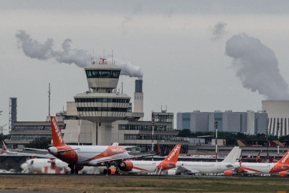 Flughafen Tegel.