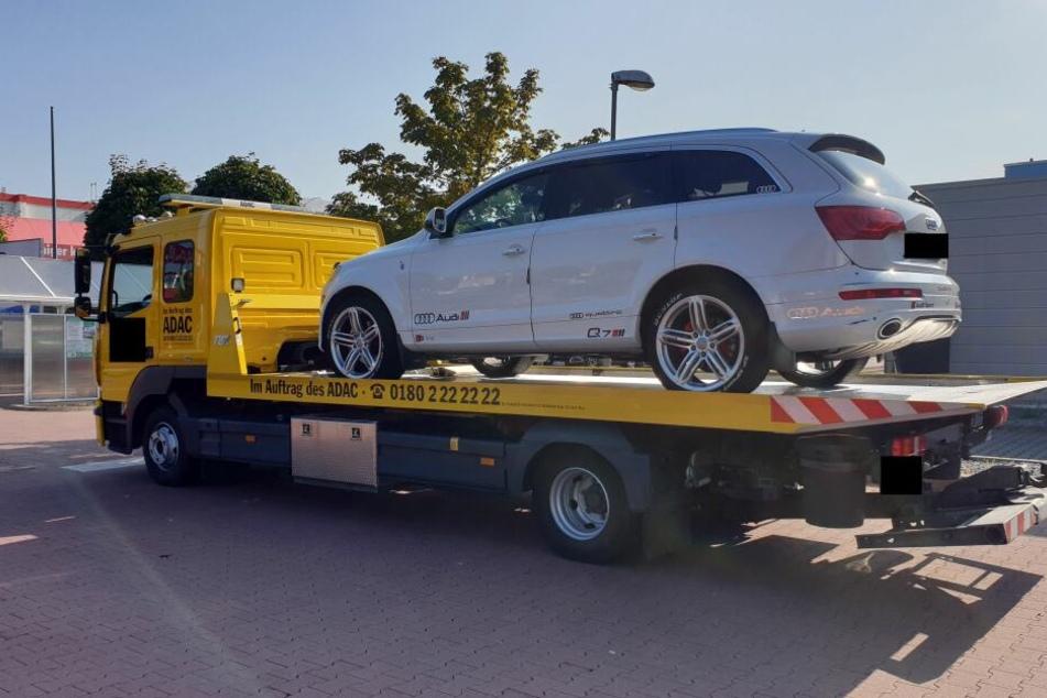 Der Fahrer des Audi Q7 hatte stattliche 373 Punkte in Flensburg angehäuft.