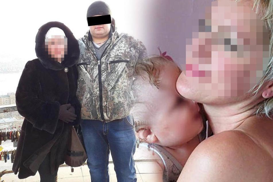 Qualvoller Tod! Mann zwingt Freundin, Säure zu trinken