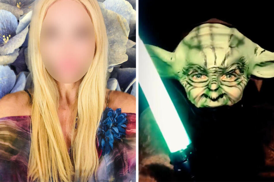 Krasses Kostüm: Welche TV-Blondine macht denn hier auf Meister Yoda?
