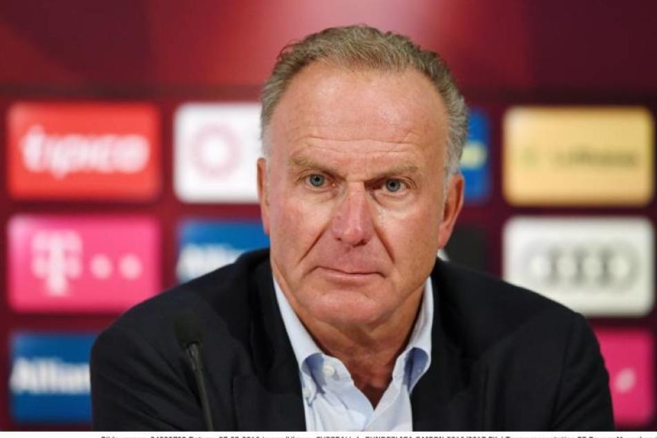 Karl-Heinz-Rummenigge (60) kritisiert die Pfiffe der Dortmunder Fans gegen Mats Hummels, der acht Jahre für den BVB spielte.