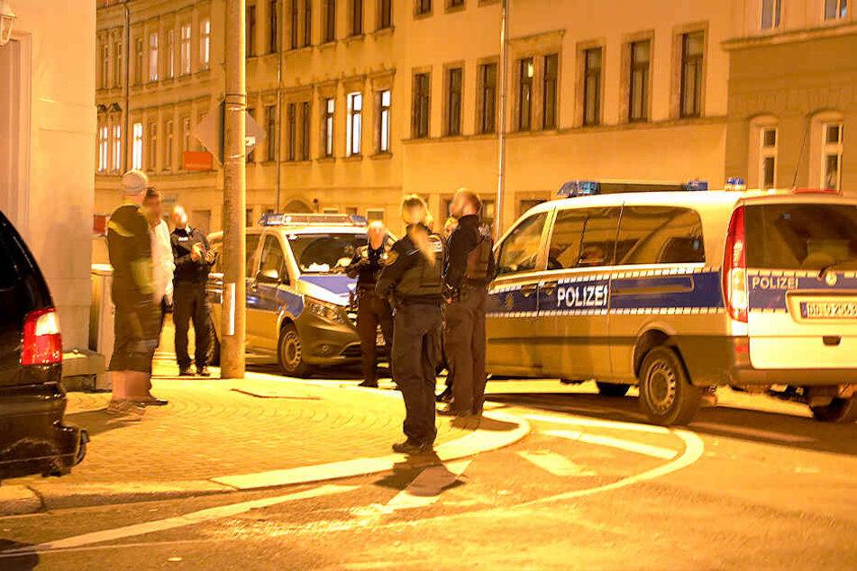 Die Polizei war in der Hainstraße im Einsatz.
