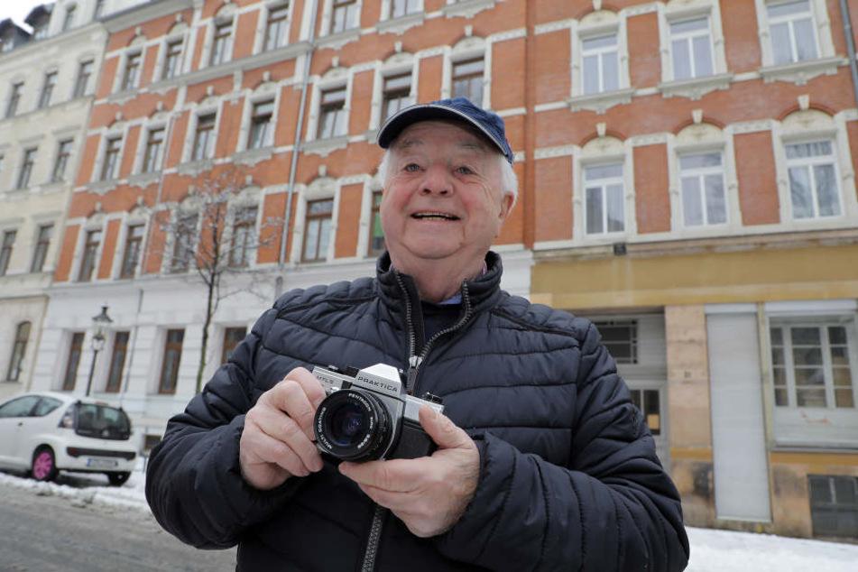 Fotograf Gerhard Zeidler (75) durfte beim Besuch der Wohltäterin mit dabei sein, erinnert sich noch heute an die sympathische, zurückhaltende Frau.