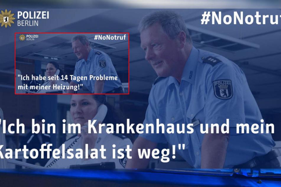 Notrufe bei Berliner Polizei: Wie bescheuert sind die denn?