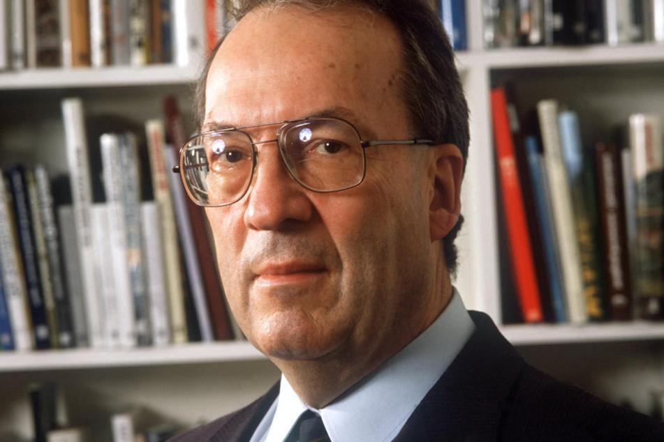 Der CDU-Politiker Manfred Rommel war von 1974 bis 1996 OB von Stuttgart. (Archivbild)