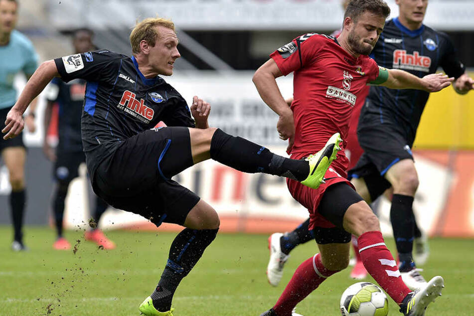 Das Spiel am Samstag endete mit einem erfolgreichen 5:0 für die Paderborner.