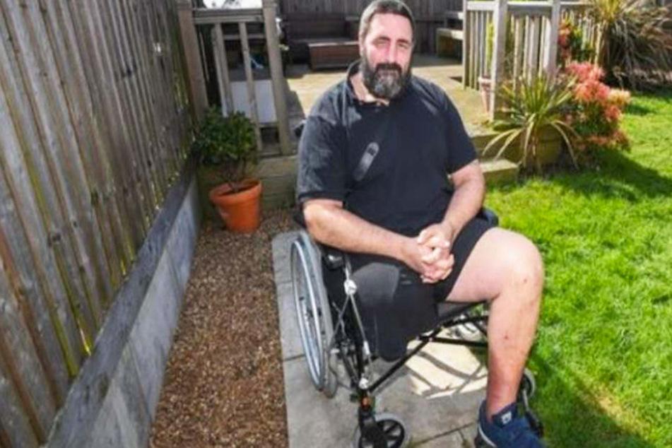 Albtraum nach Spinnen-Biss: Gärtner verliert sein Bein