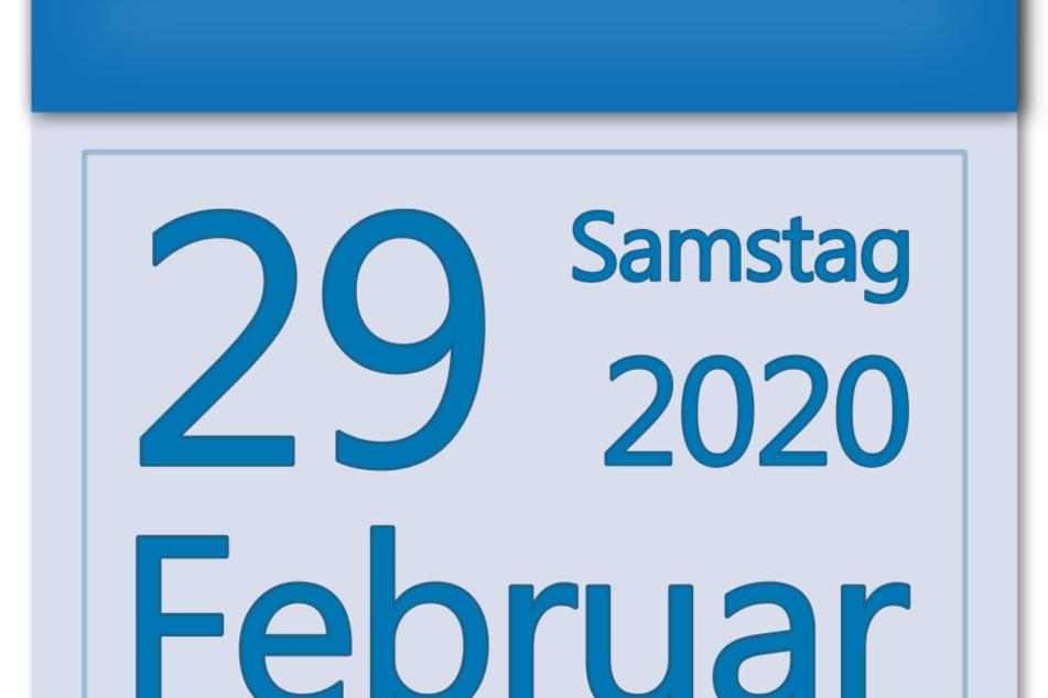 Der 29. Februar ist ein Schalttag, der nur alle vier Jahre im Kalender auftaucht.