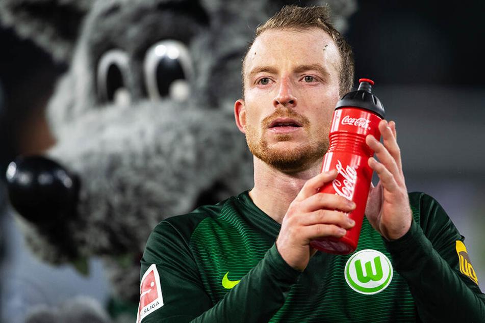 Maximilian Arnold fand es schade, dass das Interesse am ersten Wolfsburger Europa-League-Spiel seit drei Jahren so gering war. (Archivbild)