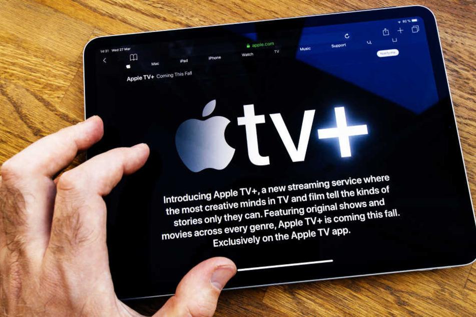 Streamen, beispielsweise auf Apple tv+, verbraucht sehr viel Strom (Symbolbild).