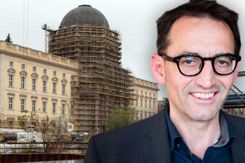 Das Berliner Stadtschloss ist Stephan von Dassel ein architektonischer Dorn im Auge. (Bildmontage)