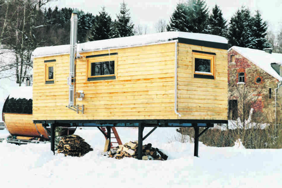 "Neuer Trend: Annaberger baut ""Tiny Houses"""