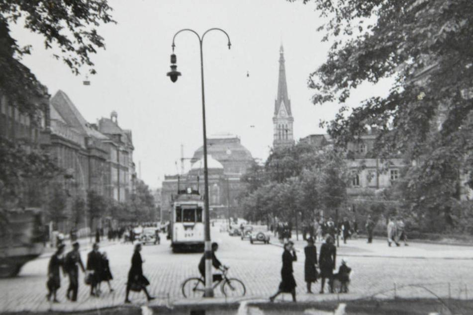 Auch Chemnitzer Fotos aus der Zeit vor dem Zweiten Weltkrieg werden aufbewahrt.