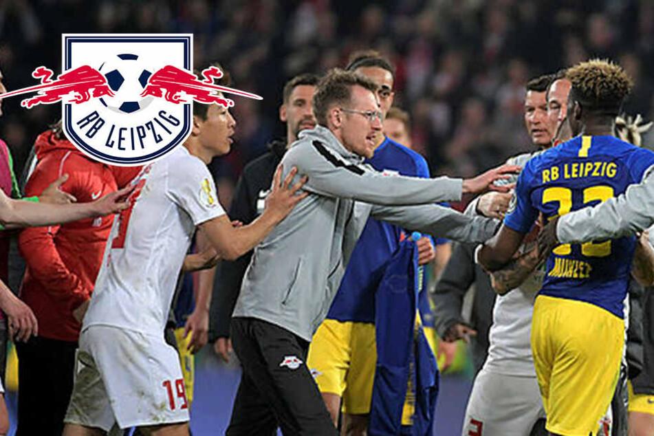 """Nach RB Leipzigs dramatischem Halbfinal-Einzug flogen die Fetzen: """"Unterste Schublade!"""""""