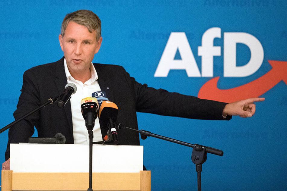 Björn Höcke (47, AfD) ist in seiner eigenen Partei umstritten.