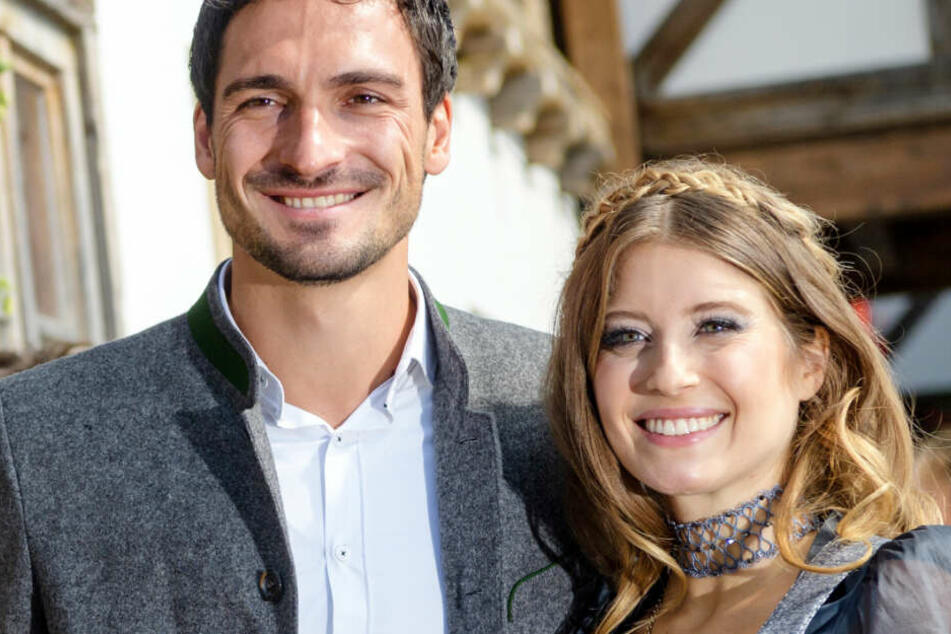 Cathy und Mats Hummels sind verheiratet und haben ein gemeinsames Kind.