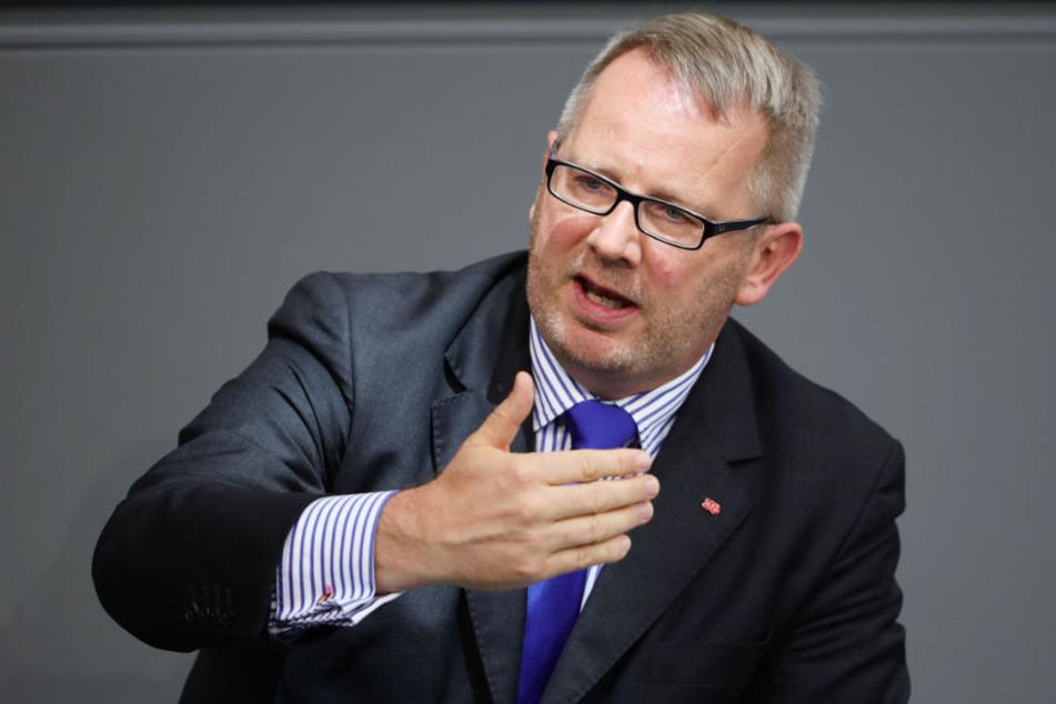 Der SPD-Abgeordnete Johannes Kahrs sitzt für den Wahlkreis Hamburg-Mitte im Bundestag (Archivbild).