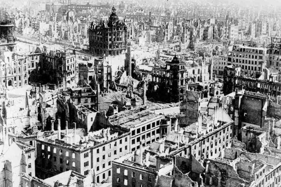 Am 13. Februar gedenkt Dresden der Zerstörung der Stadt durch die Bombenangriffe der Alliierten.