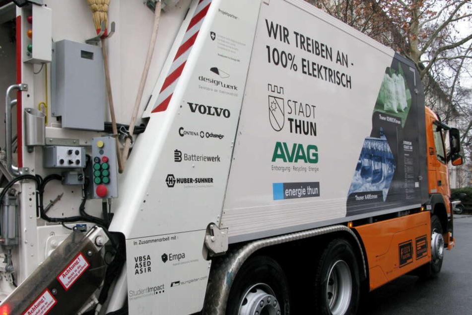 Ganz schön kostspielig: Ein E-Abfallwagen kostet rund 500.000 Euro.