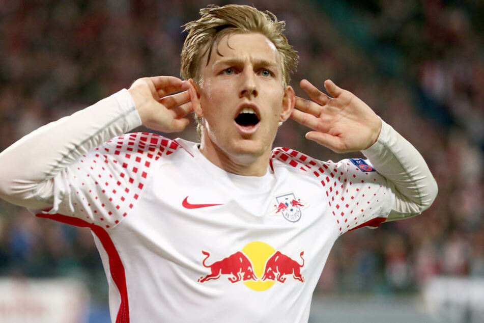 Emil Forsbergs Zukunft bei RB Leipzig ist noch nicht endgültig geklärt. Zur Geburt seiner Tochter stellt der Verein dem Schweden einen Privatjet zur Verfügung, damit er bei der Entbindung dabei sein kann.