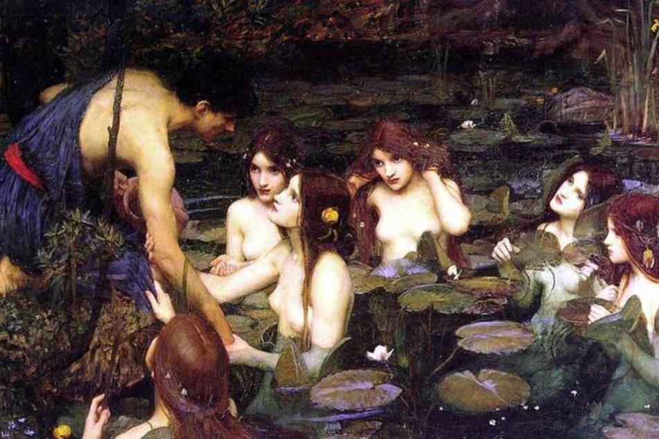 Dieses Bild wurde wegen der Darstellung nackter Frauen abgehängt.