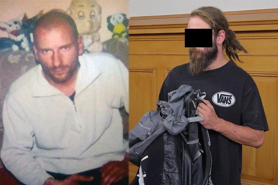 Clemens E. (r, 28) soll seinen Bruder Christian (37) getötet haben.