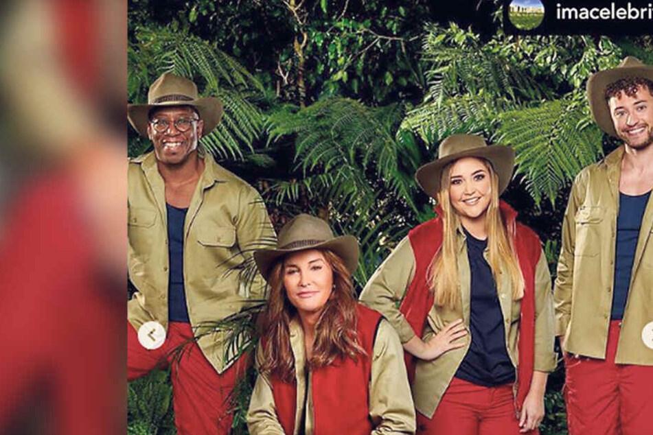 Caitlyn Jenner (70, 2.v.l.) ist ab 17. November auf ITV im Dschungel zu sehen.