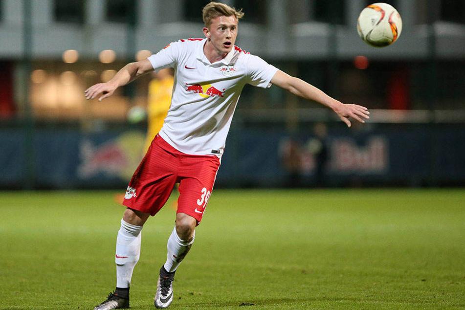 Verteidiger Georg Teigl spielte zweieinhalb Jahre für die Leipziger, wechselte diese Saison nach Augsburg.