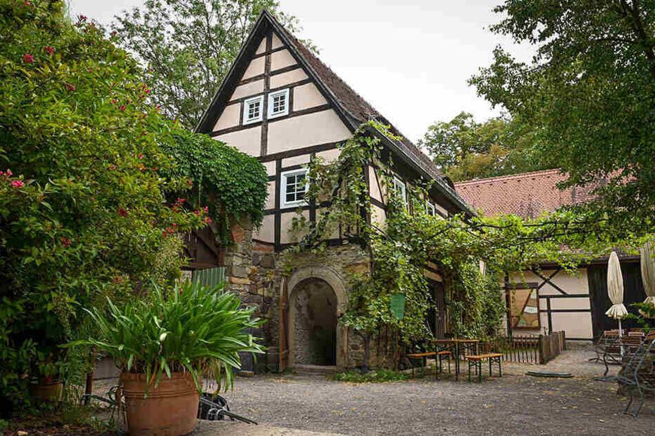 Das Weinmuseum in der Zschoner Mühle.