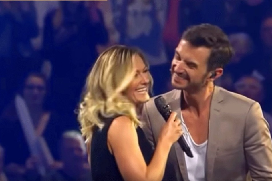Der Ging Ins Leere Helene Fischers Kuss Abfuhr An Ihren Florian