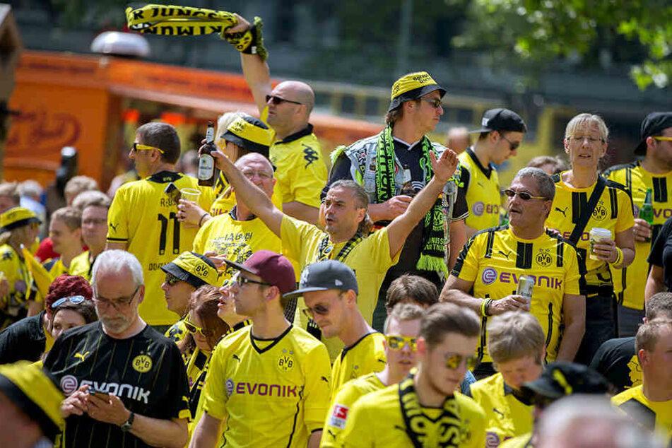 Vor allem die BVB-Anhänger werden zahlreich in Berlin erwartet.