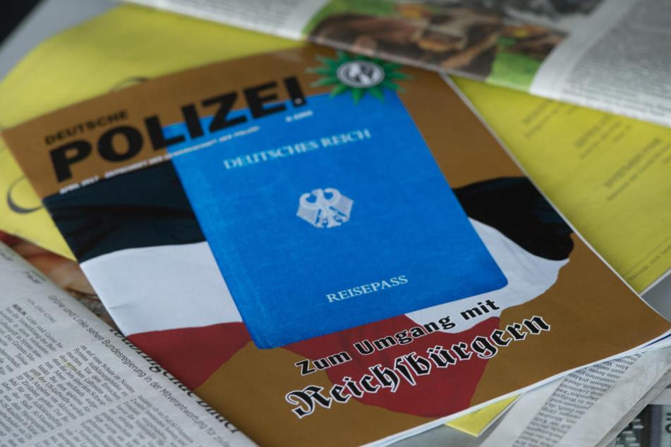 1000 Personen rechnet der Verfassungsschutz der Reichsbürger-Szene in Hessen zu. (Symbolbild=