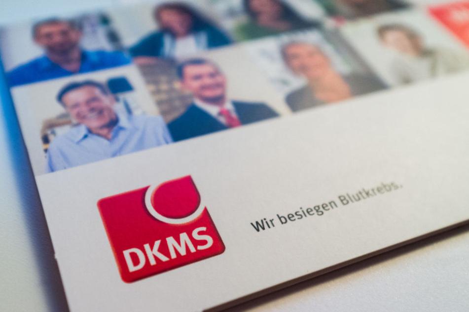 Spender können sich bei der DKMS registrieren.