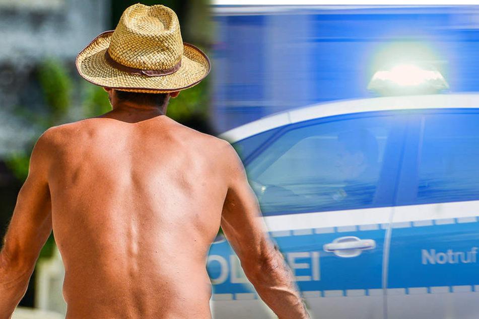 Die Polizei konnte den Mann anschließend festnehmen.