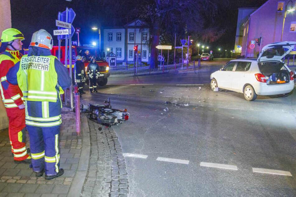 Die Polizei ermittelt nun, wie es zu dem Unfall kommen konnte.
