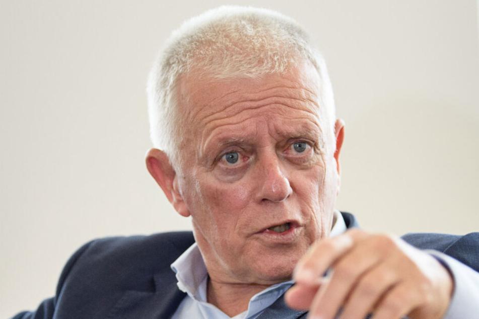 Oberbürgermeister von Stuttgart Fritz Kuhn.