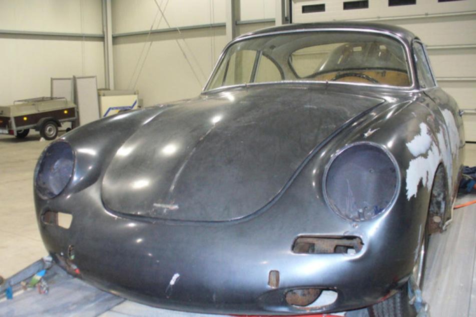 Diesen Porsche wollte der Mann nach Polen transportieren um ihn dort zu restaurieren.